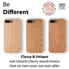 iATO iPhone 7 plus 8 plus Wooden Mobile Phone Cases & Covers