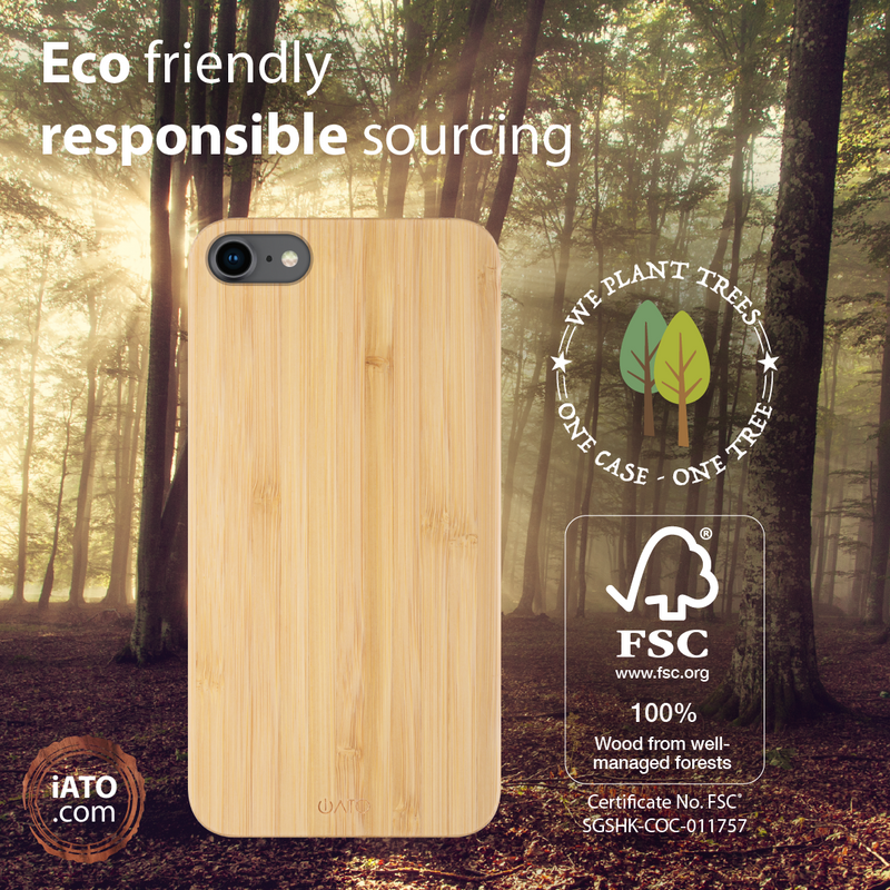 iATO iPhone SE 2020 / 8 / 7 Wooden Mobile Phone Cases & Covers