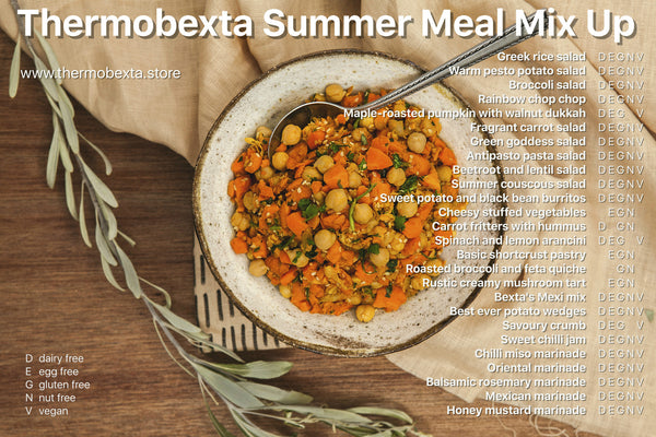 Volume 2: Summer Meal Mix Up Print book + bonus eBook