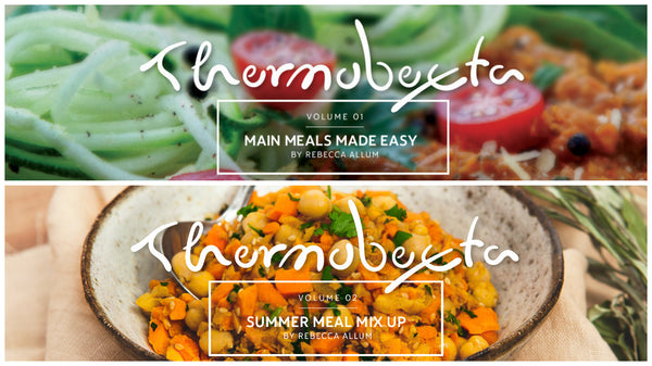 Thermobexta collection: Main Meals Made Easy AND Summer Meal Mix Up bundle print books + eBooks