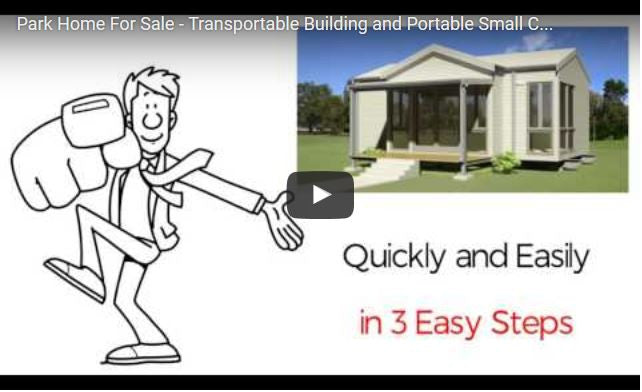Park Home For Sale - Transportable Building and Portable Small Cabin available in Perth and Bunbury, Western Australia.
