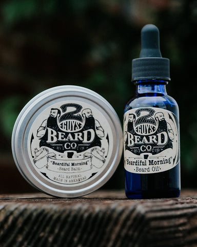 """Beardiful Morning"" Combo Pack,  - 2 Guys Beard Co"