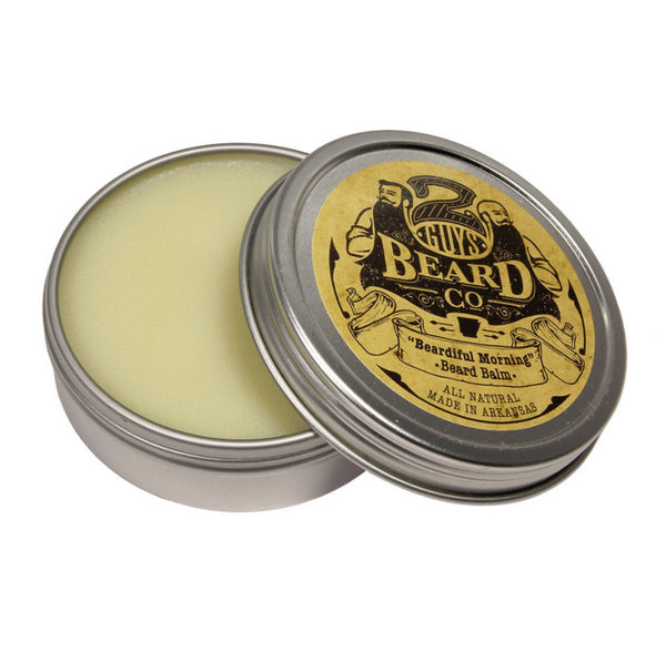 """Beardiful Morning"" Beard Balm, Serum & Oils - 2 Guys Beard Co"