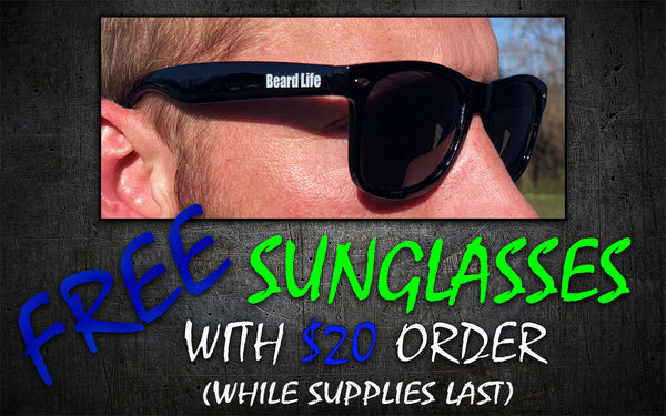 FREE SUNGLASSES!,  - 2 Guys Beard Co