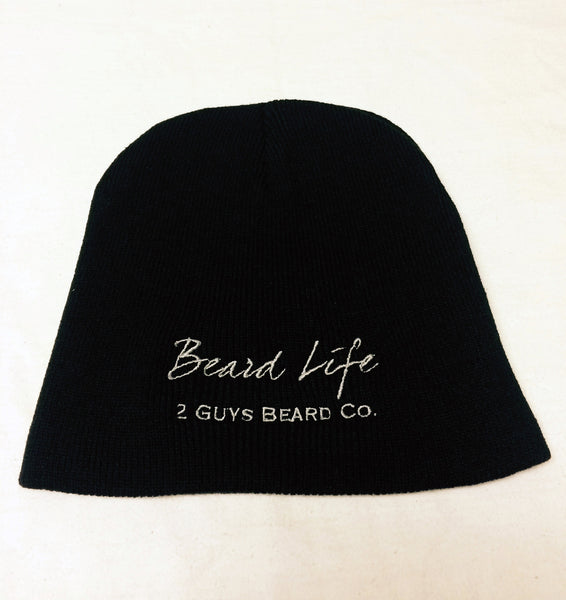 Beard Life Beanie, Hoodie - 2 Guys Beard Co