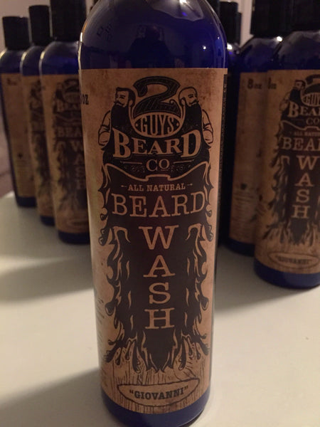Giovanni Beard Wash, Serum & Oils - 2 Guys Beard Co