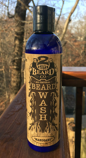 Mahogany Beard Wash, Serum & Oils - 2 Guys Beard Co