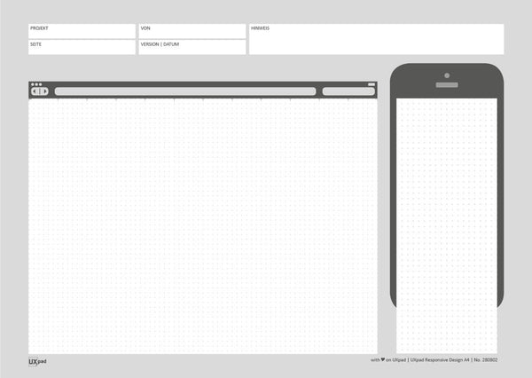 UXpad und Bootstrap
