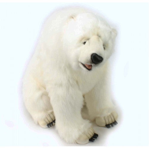"""Andrea"" Polar Bear Cub - Mechanical Animated"