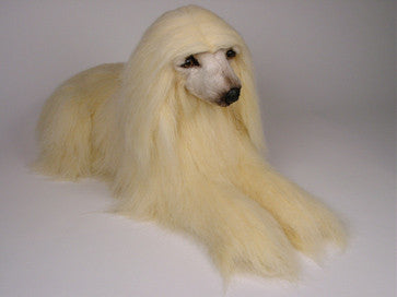 """Snuppy"" Afghan Hound Dog"