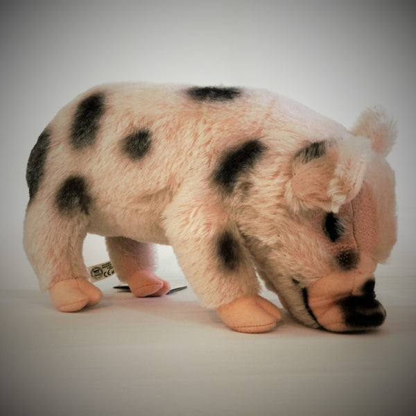 """Mrs. Piddles"" Mohair Micro Pig"
