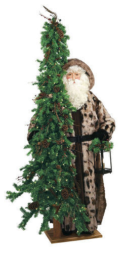 """Rainforest Radience"" Father Christmas Santa 57"" Display"