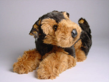 Bruce Airedale Terrier Luxury Plush Stuffed Dog Big Furry Friends