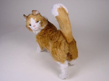 Azrael Maine Coon Luxury Plush Stuffed Cat Big Furry Friends