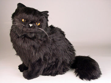 Blackie Black Persian Luxury Plush Stuffed Animal Big Furry Friends