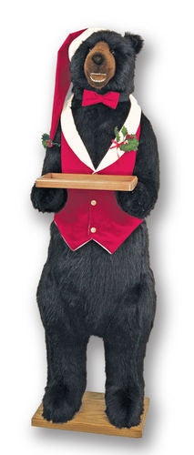 """Hobson"" Christmas Butler Bear (teeth)"
