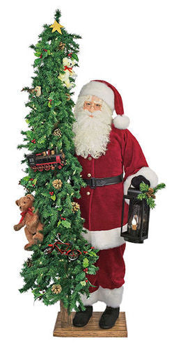 """Children's Wishes"" Santa Father Christmas 57"" Display"