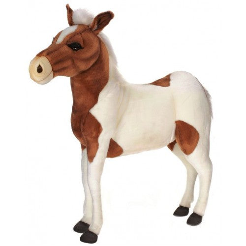 """Bella"" Brown and White Pony Ride-On"
