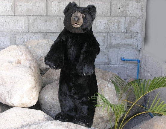 """Bramble"" Black Honey Bear"