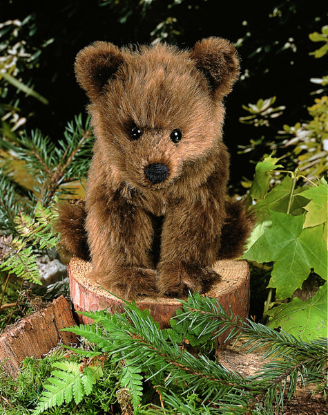 """Holly"" Mohair Brown Bear"
