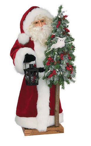 """Snowy Owl 2nd Edition"" Santa Father Christmas 29"" Display"