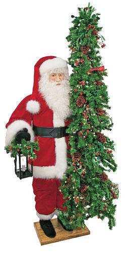 """Classic Joy"" Santa Father Christmas 57"" Display"