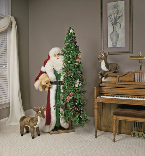 """Toys in the Attic"" Santa Father Christmas 57"" Display"