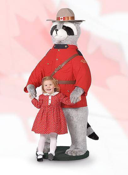 """Billingsworth"" RCMP Raccoon"