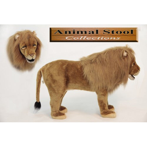 """Ari"" Lion Footstool"