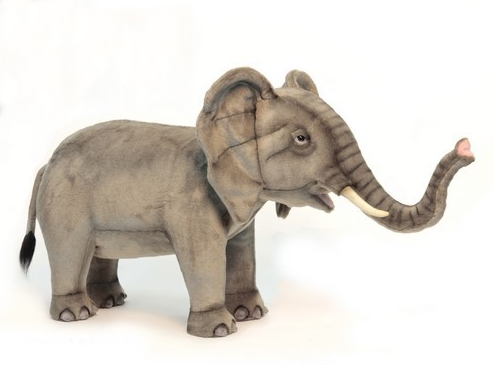 """Gianna"" Elephant Footstool"
