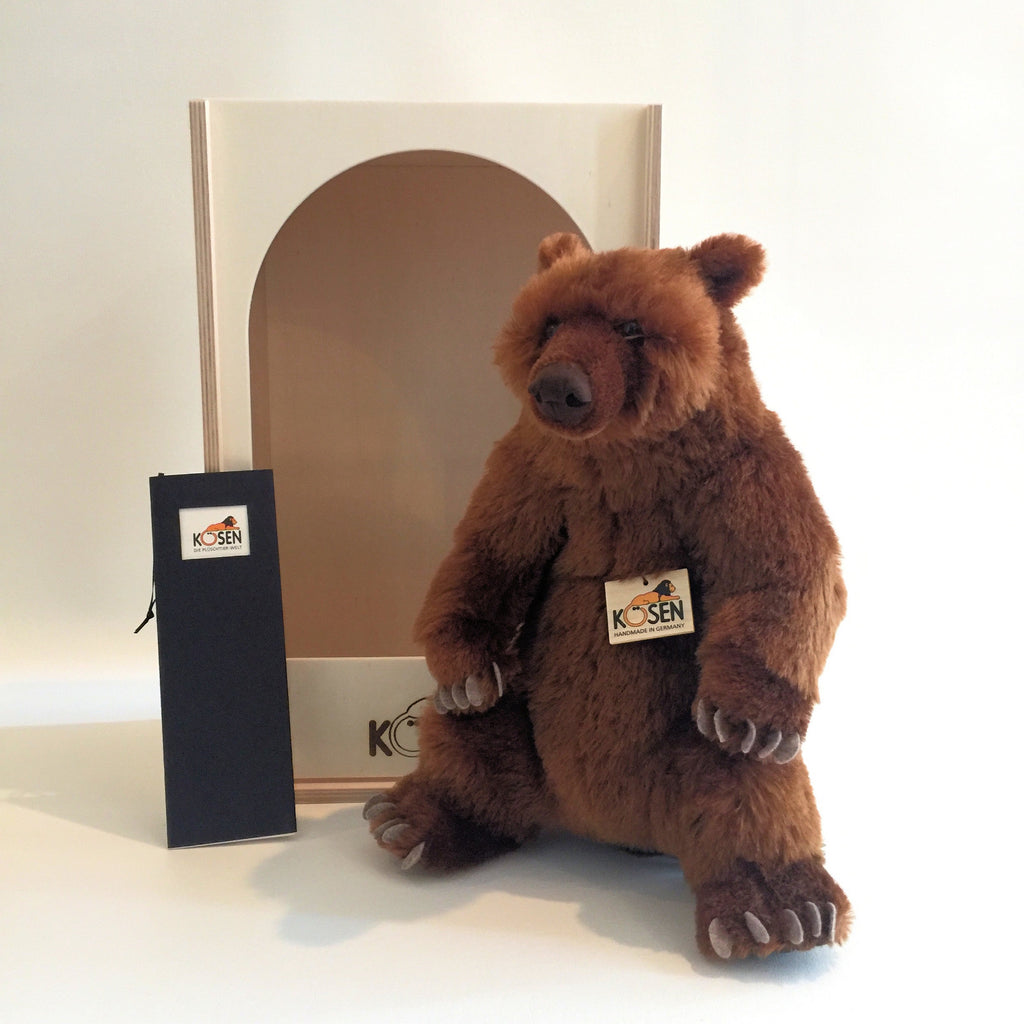"""Bindi"" Mohair Brown Bear Ltd. Edition"