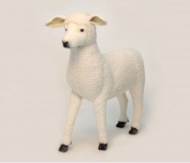 """Friday"" Lamb Footstool"