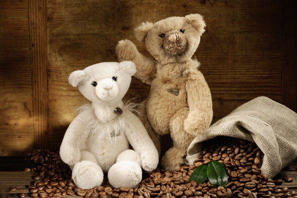 """Latina"" Milk-Coffee Teddy Bear"
