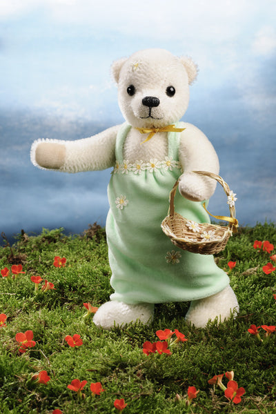 """Anuschka"" Mohair Flower Girl Teddy Bear - 2017 Collection"