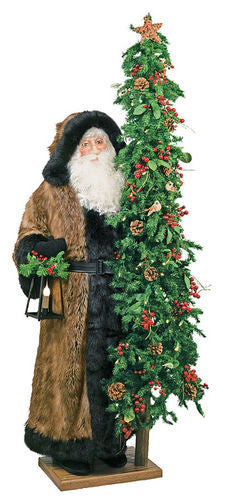 """Christmas Tracker, 2nd Edition"" Father Christmas Santa 57"" Display"