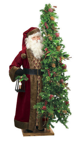 """Cabernet Christmas"" Santa Father Christmas 57"" Display"