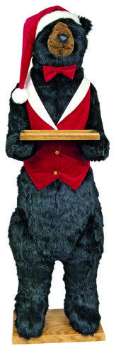 """Arthur"" Christmas Butler Bear (no teeth)"