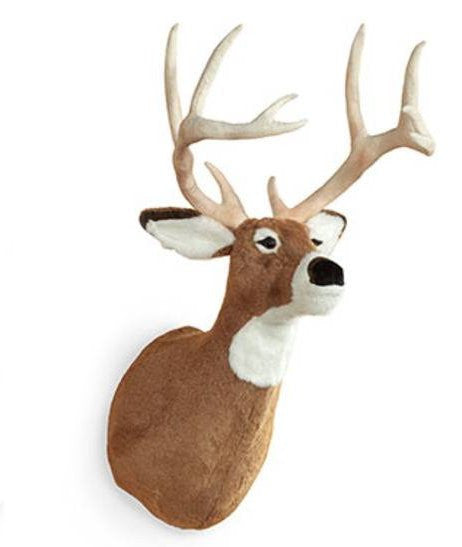 """Aurora"" White Tail Deer Wall Mount"