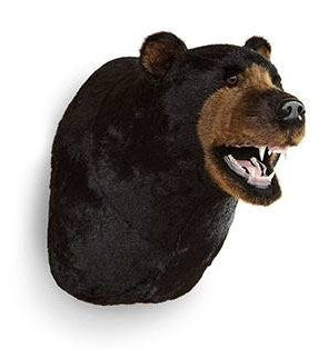 """Jack"" Black Bear Wall Mount"