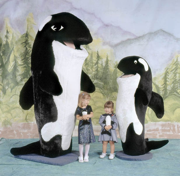 Shamu Orca Whale Big Furry Friends
