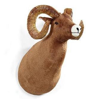 """Zodiac"" Bighorn Sheep Wall Mount"