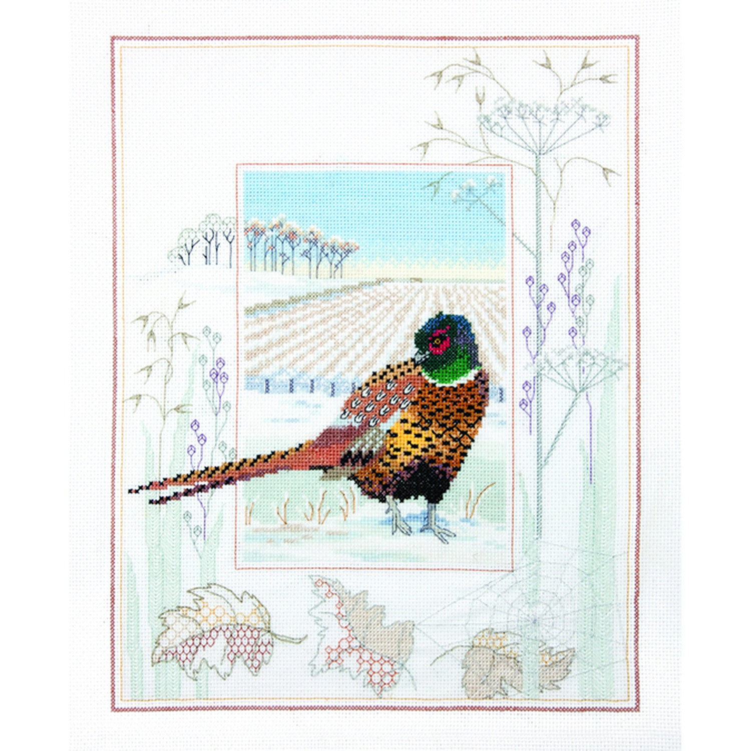 British Wildlife - Pheasant<br />Counted Cross Stitch Kit