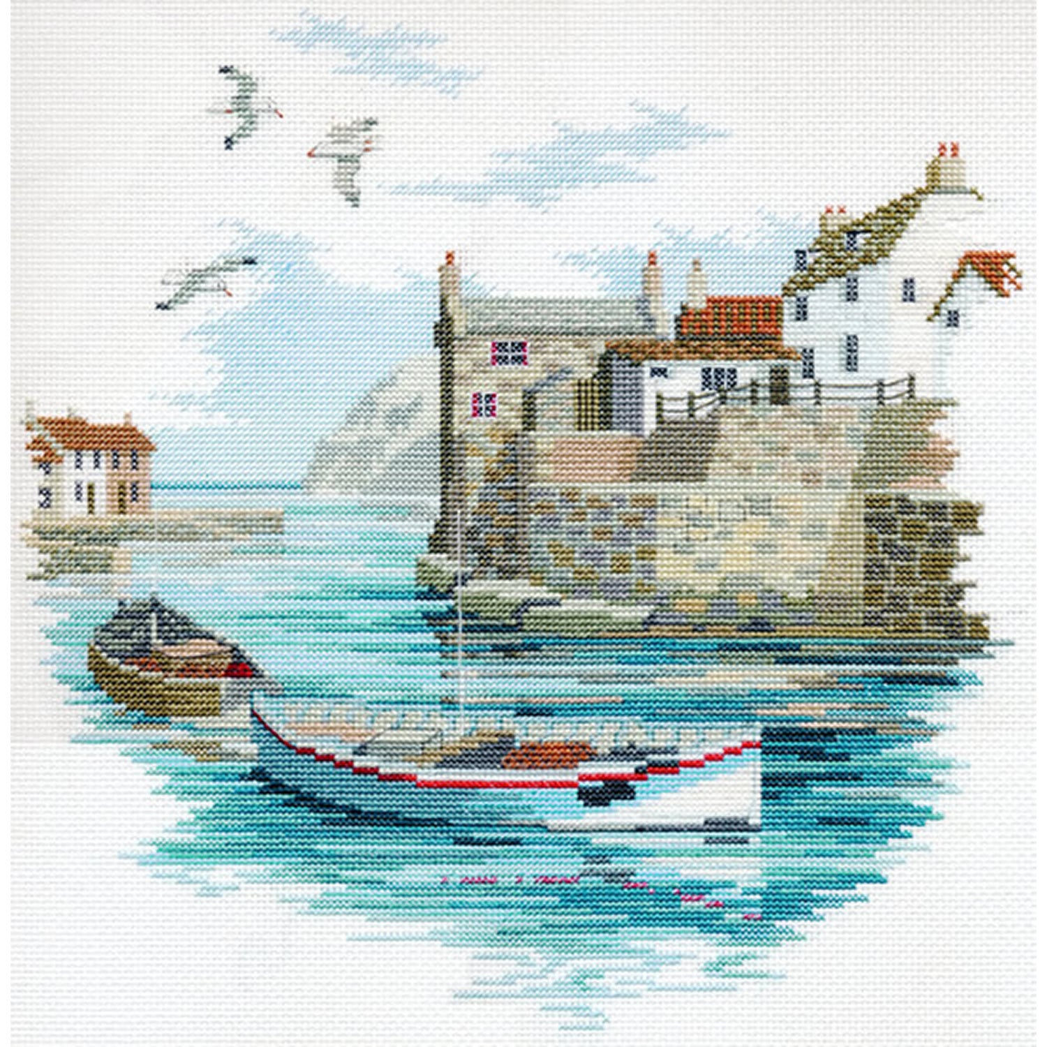 Coastal Britain - Secluded Port<br />Counted Cross Stitch Kit