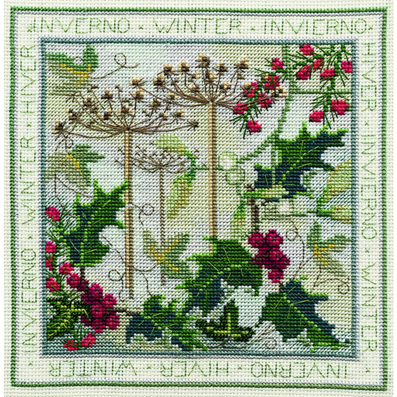 Four Seasons - Winter<br />Counted Cross Stitch Kit