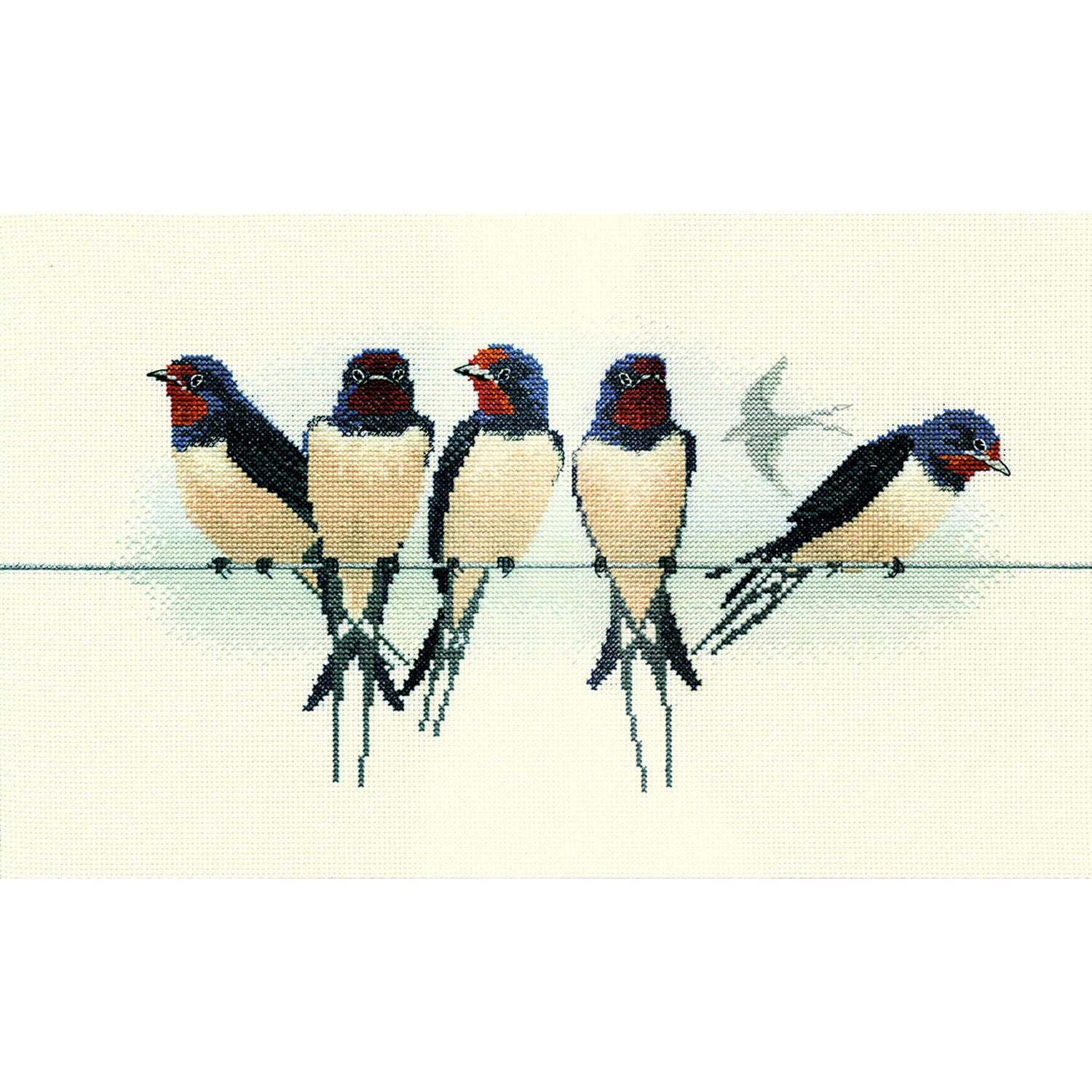 Swallows<br />Counted Cross Stitch Kit