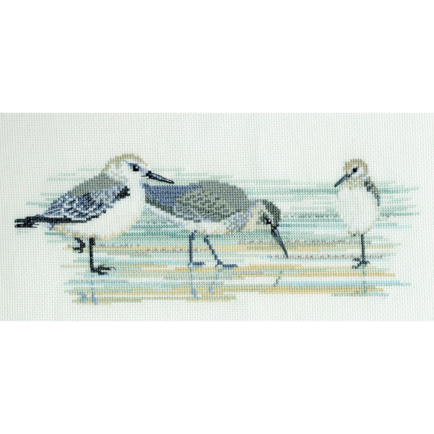 Waders Counted Cross Stitch Kit
