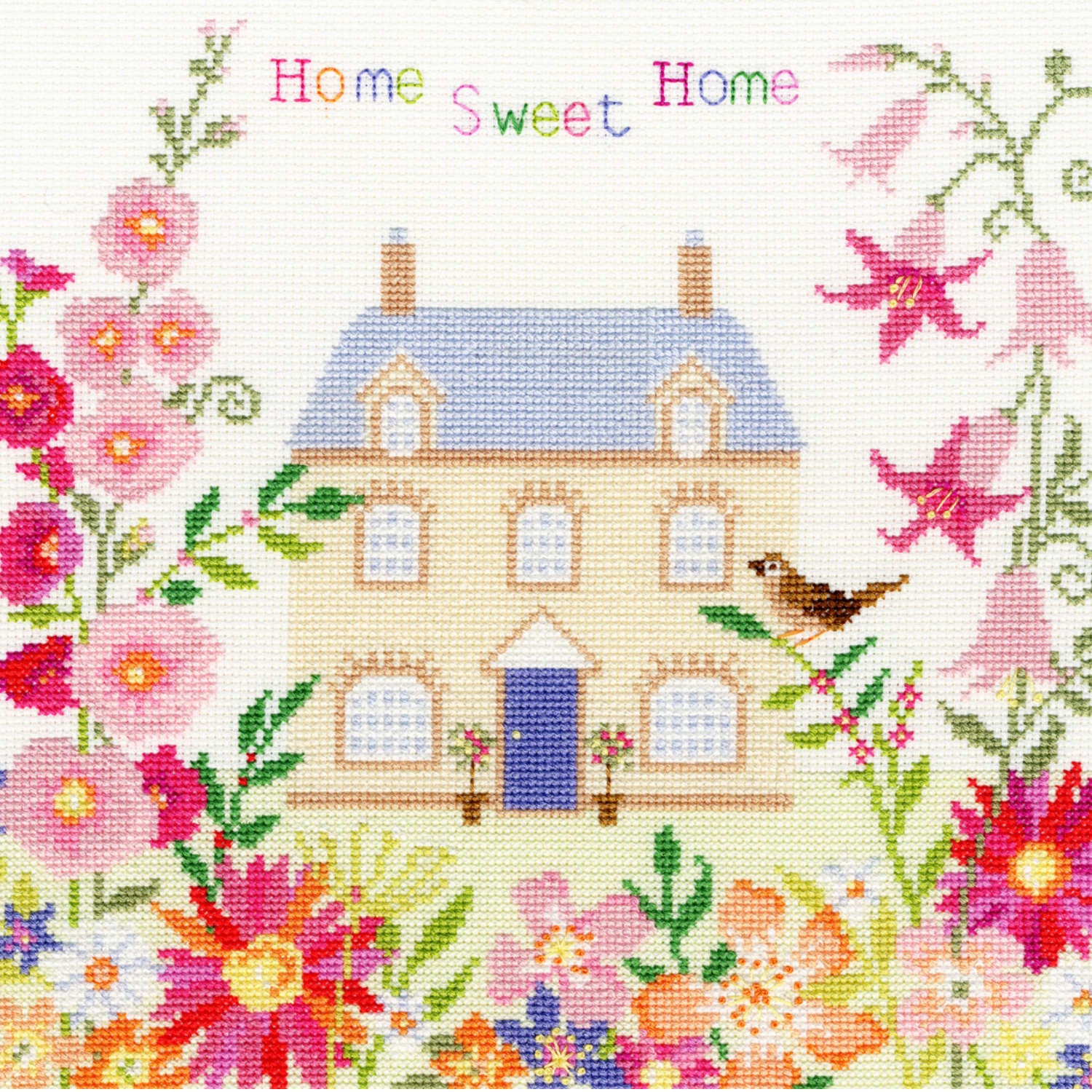 Home Sweet Home<br />Counted Cross Stitch Kit