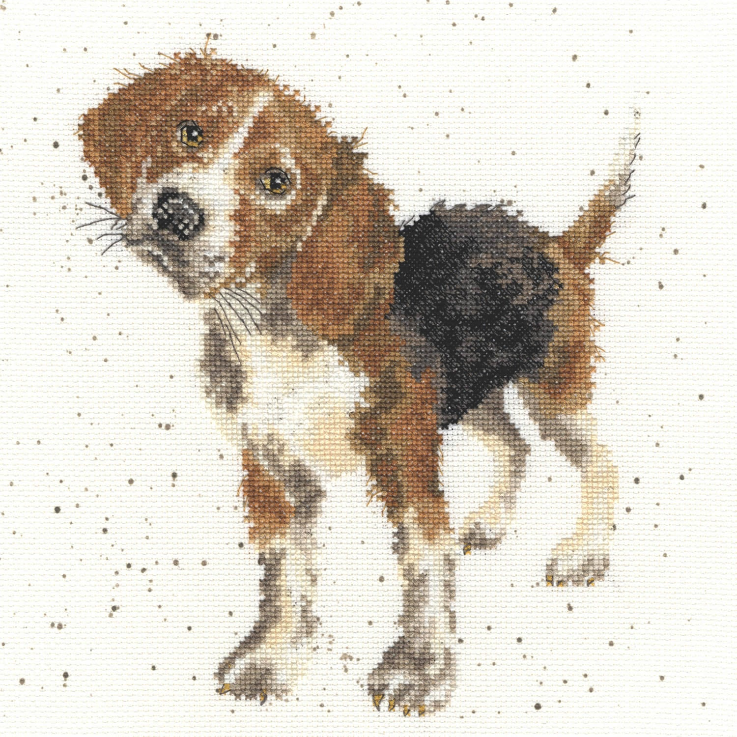 Beagle <br />Counted Cross-Stitch Kit