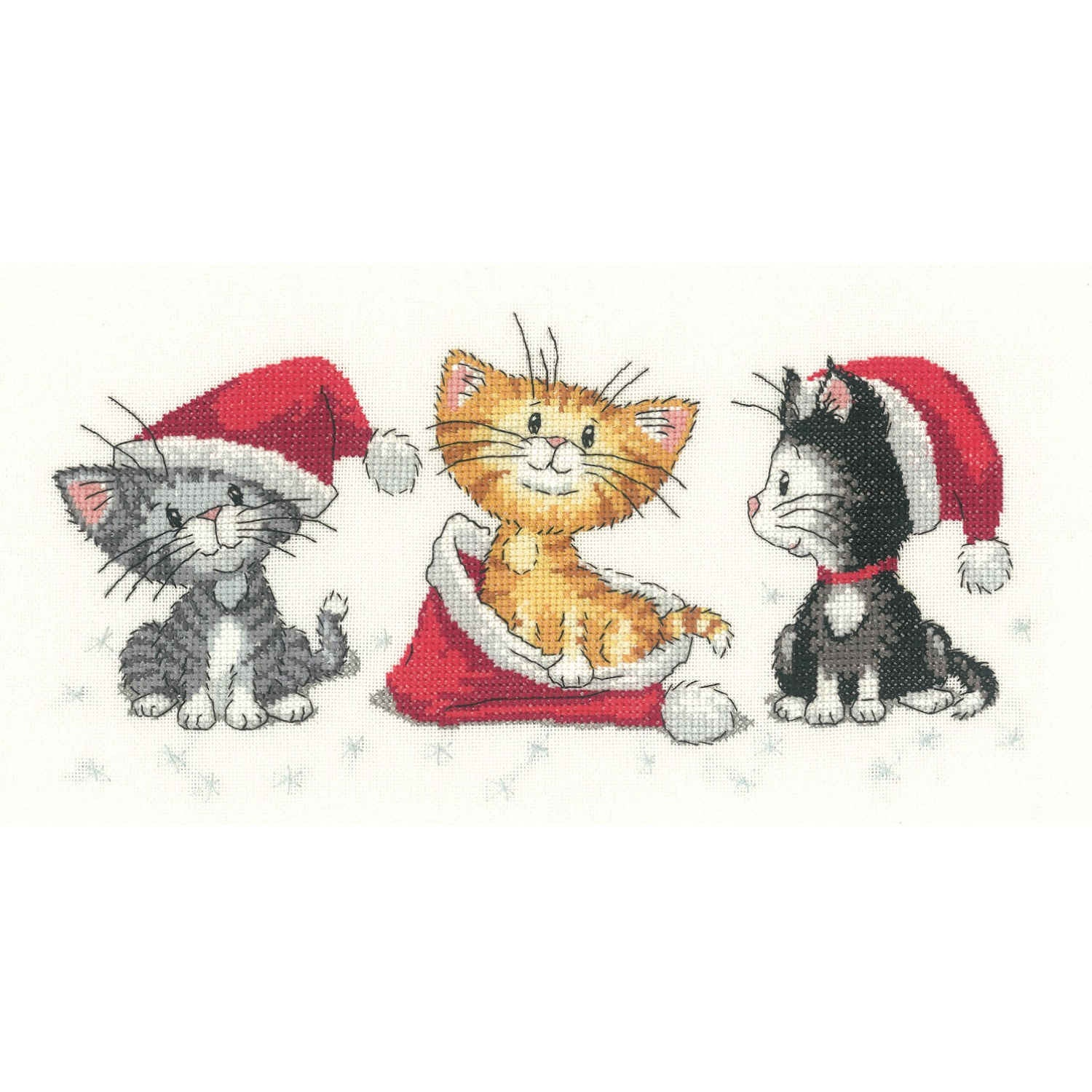 Christmas Kittens<br />Counted Cross Stitch Kit