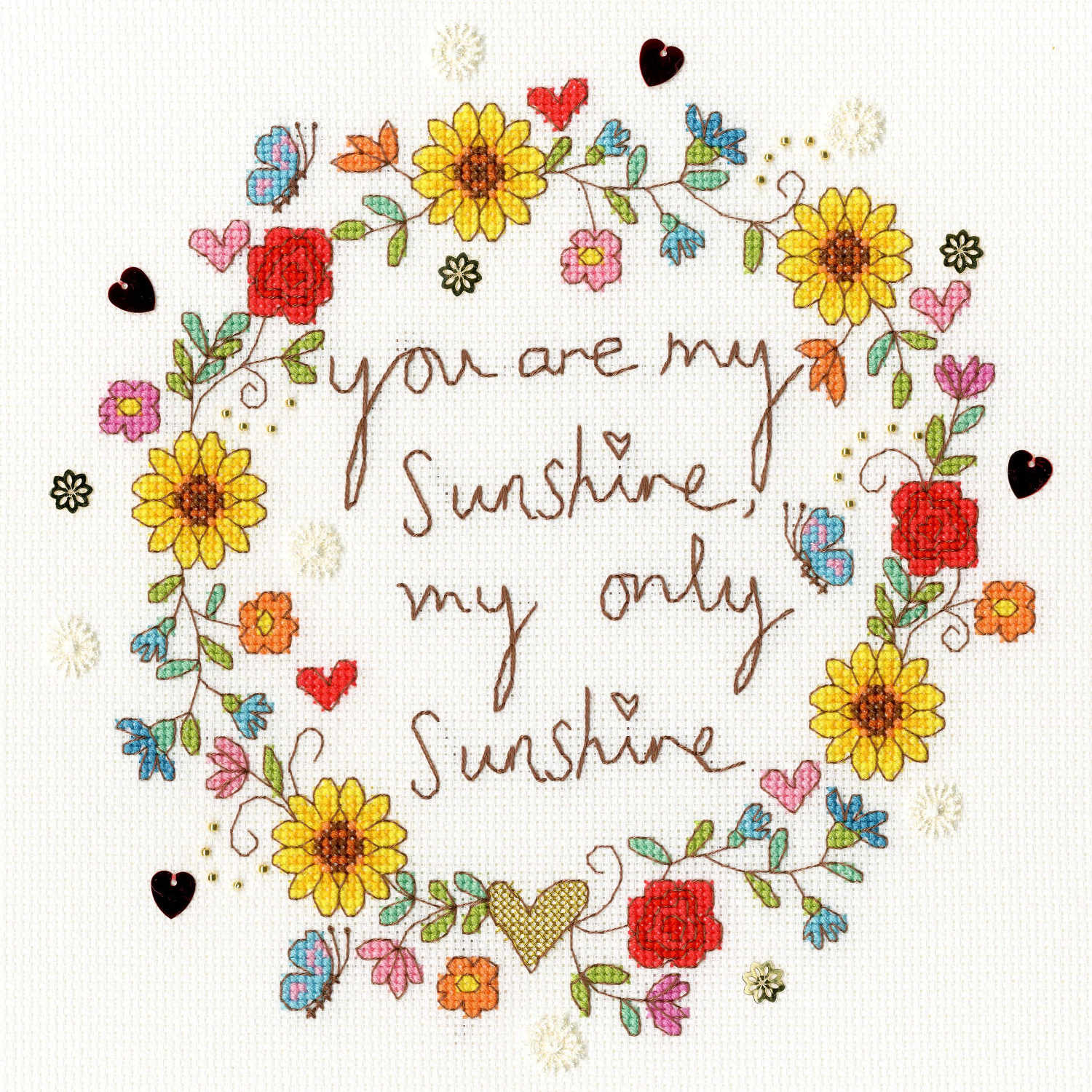 Love Sunshine <br />Counted Cross Stitch Kit